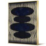 Obraz na płótnie z ramą typu american box o wymiarach 62x92 cm Abstrakcja. Obraz pasuje do salonu i sypialni w stylu nowoczesnym.