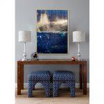 Obraz na płótnie z ramą typu american box o wymiarach 144x102 cm Abstrakcja. Obraz pasuje do salonu i sypialni w stylu nowoczesnym.