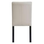 Krzesło tapicerowane aksamitem Mia.