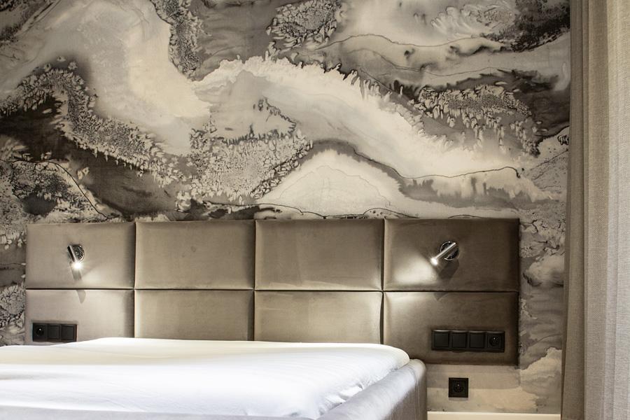 Nowoczesny Zagłówek łóżka Tapicerowany Alto W Rozmiarach 150170190 X 70 Cm