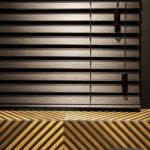 Żaluzja drewniana 50mm w kolorze czarnym