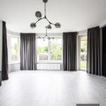 Zasłony w salonie system fleks – Tango 05